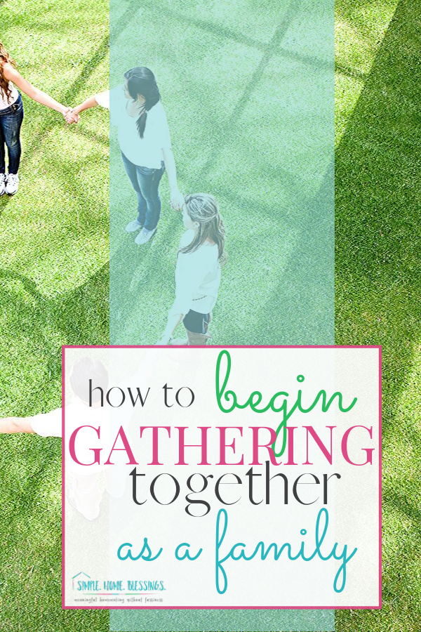 the simple process of developing a morning time gathering with your family - connect with your kids