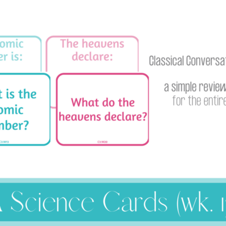 CC Cycle 3 Science Q&A Cards (weeks 13-24)