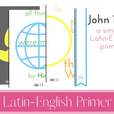 Latin-English Primer (John 1:1-7)