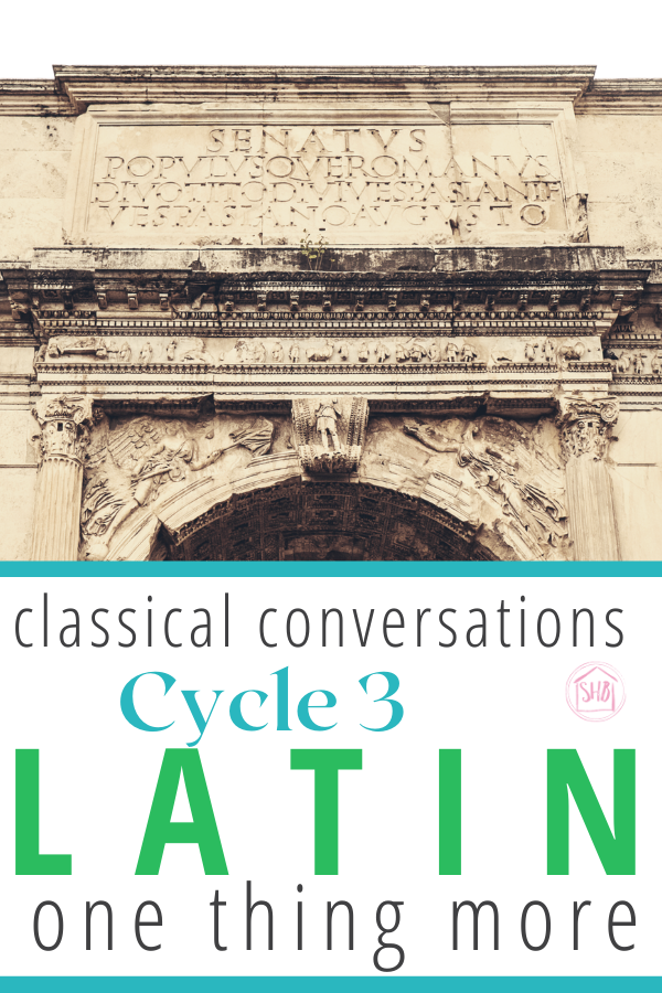 simple additions for second-cycle Classical Conversations students interested in Latin, updated for cycle 3, 5th edition