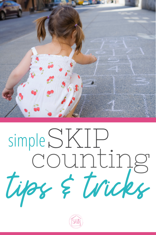 super helpful tips for teaching kids to skip count in the early elementary years