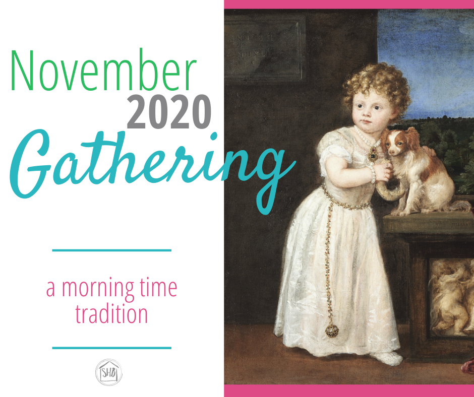 the extras and add-ons for your morning time tradition - Gathering November 2020