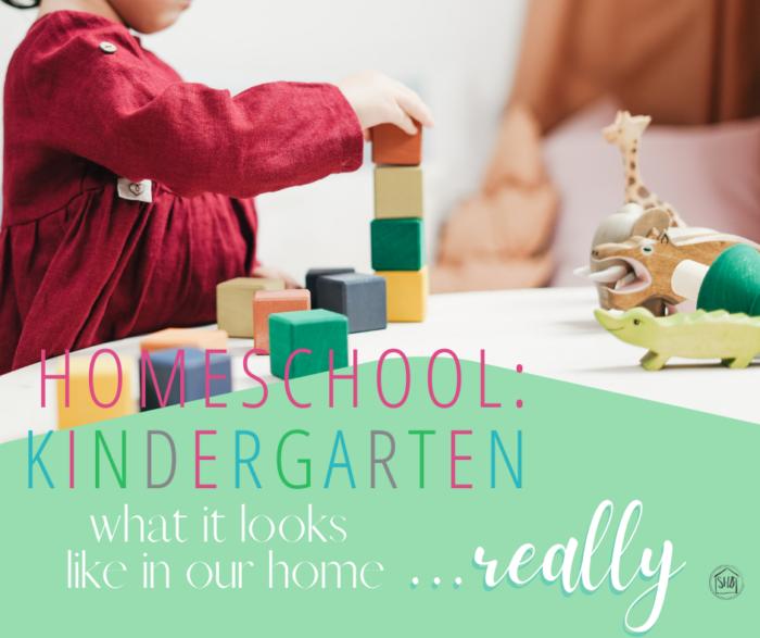 What Kindergarten Looks Like in our Homeschool...Really, a simple approach to kindergarten