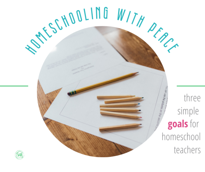 homeschooling with peace - starting or continuing the homeschool journey with peace - takeaways from the book Teaching from Rest.