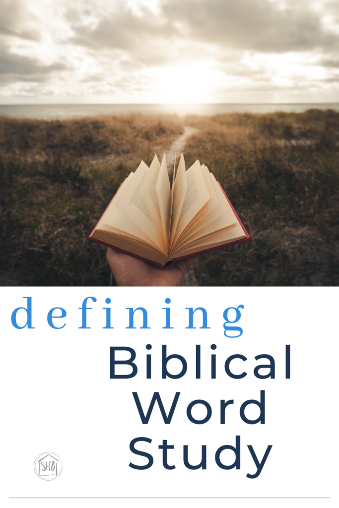 provides a clear and concise definition of Biblical word study for the layperson - what resources you don't need to use
