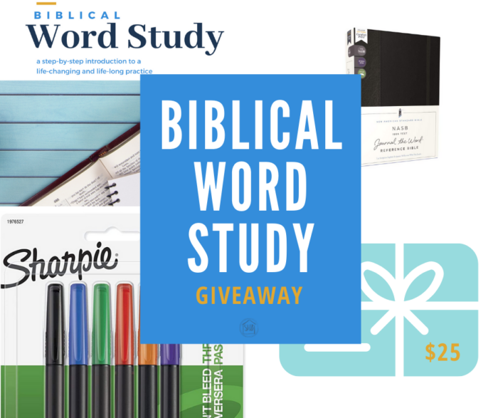 A new book - Biblical Word Study teaches the process of digging into the original languages of Scripture to discover deeper meaning - a giveaway!