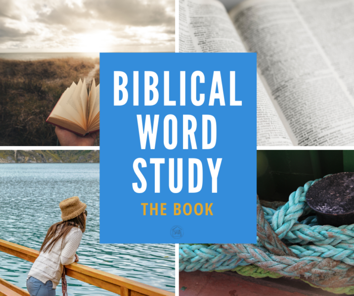 A new book - Biblical Word Study teaches the process of digging into the original languages of Scripture to discover deeper meaning