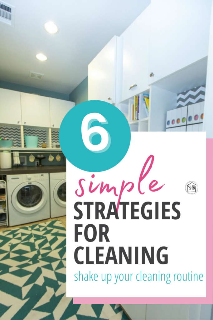 Some simple strategies for cleaning your home.  Limited time and even more limited energy? Give these ideas a try to clean quickly!