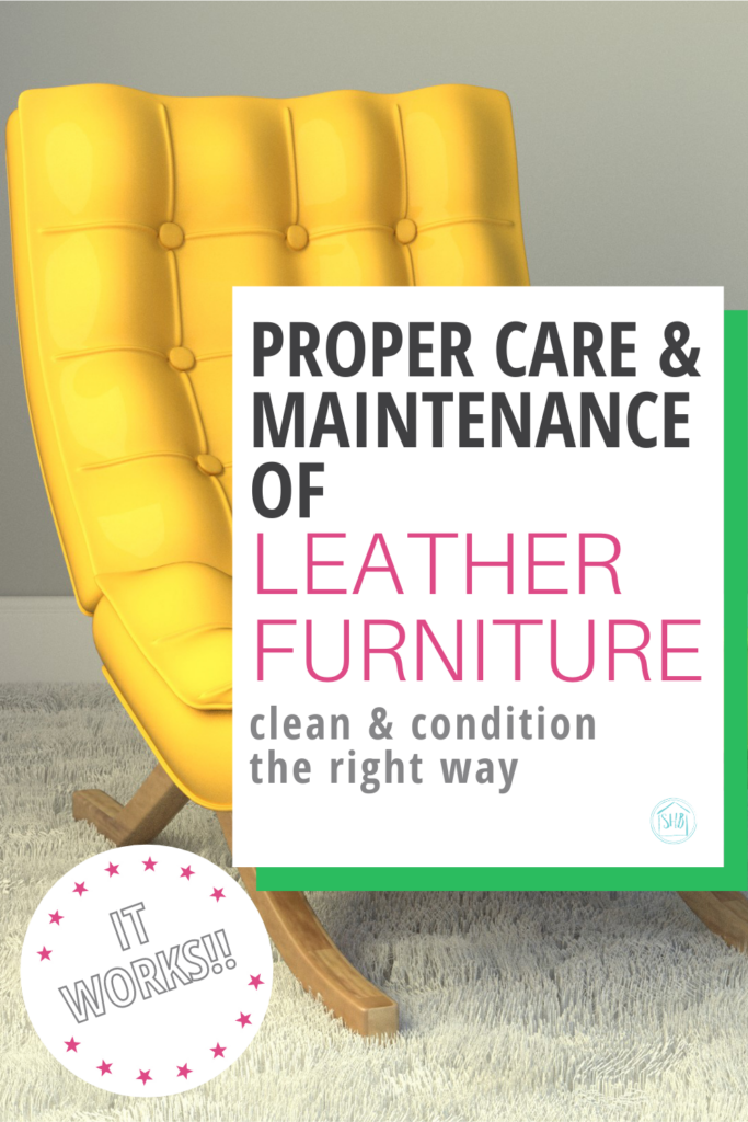Protect your investment with a simple tutorial for the proper care and maintenance of leather furniture. solution to dry, cracked leather.
