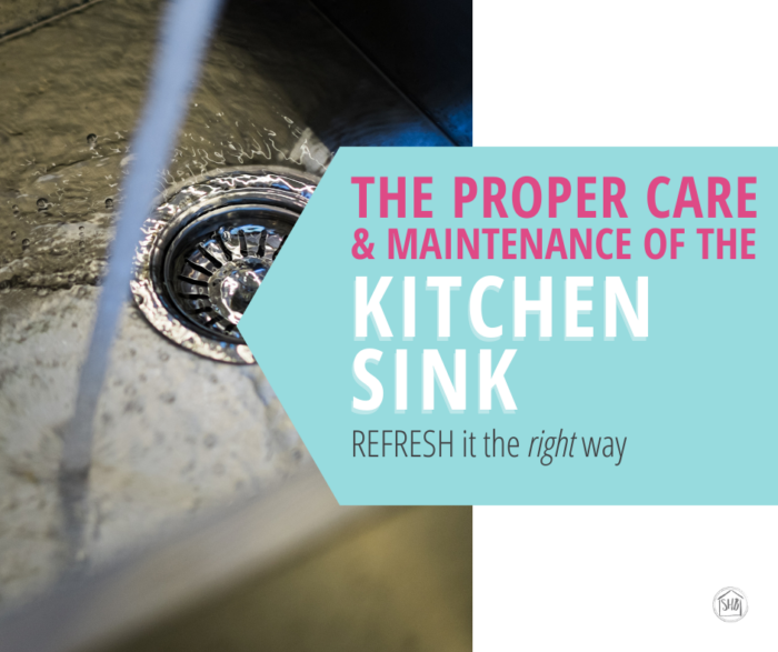 3 simple things you need to know about your garbage disposal to properly care and maintain it. Recommended products and procedures