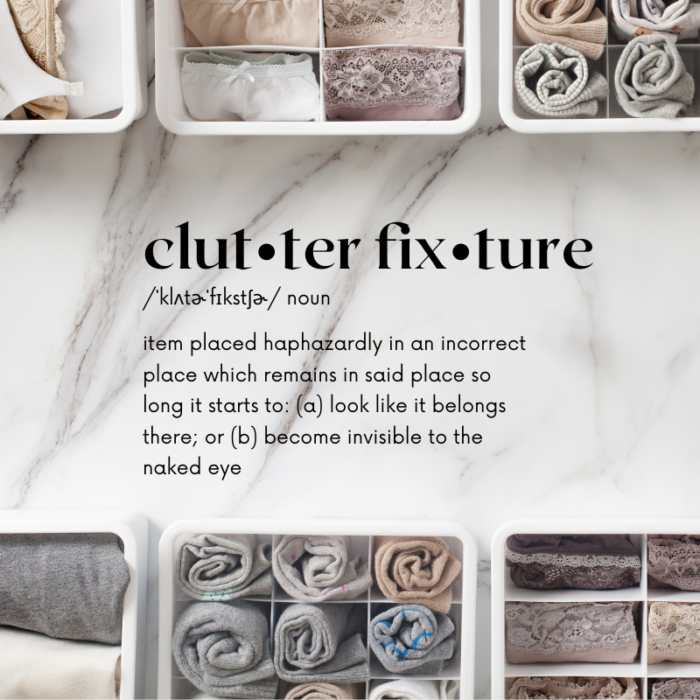 Do you have clutter fixtures in your home?Follow this simple routine for cleaning up clutter fixtures in your home.