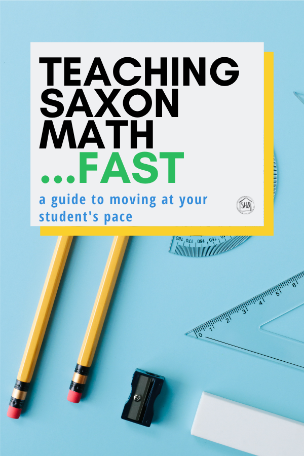 how to teach Saxon Math Fast - a simple guide for making sure your elementary student is challenged to think and talk in math