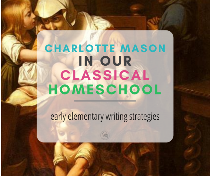 how we incorporate Charlotte Mason habits into our Classical Homeschool, utilizing Ambleside Online's resources in the early elementary years
