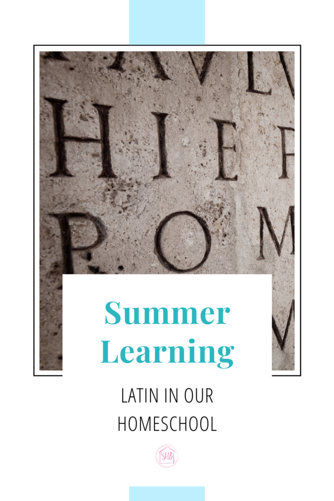 a detailed description of our Conlatio - a Latin Gathering tradition.  how it works, in our homeschool, and why we do it
