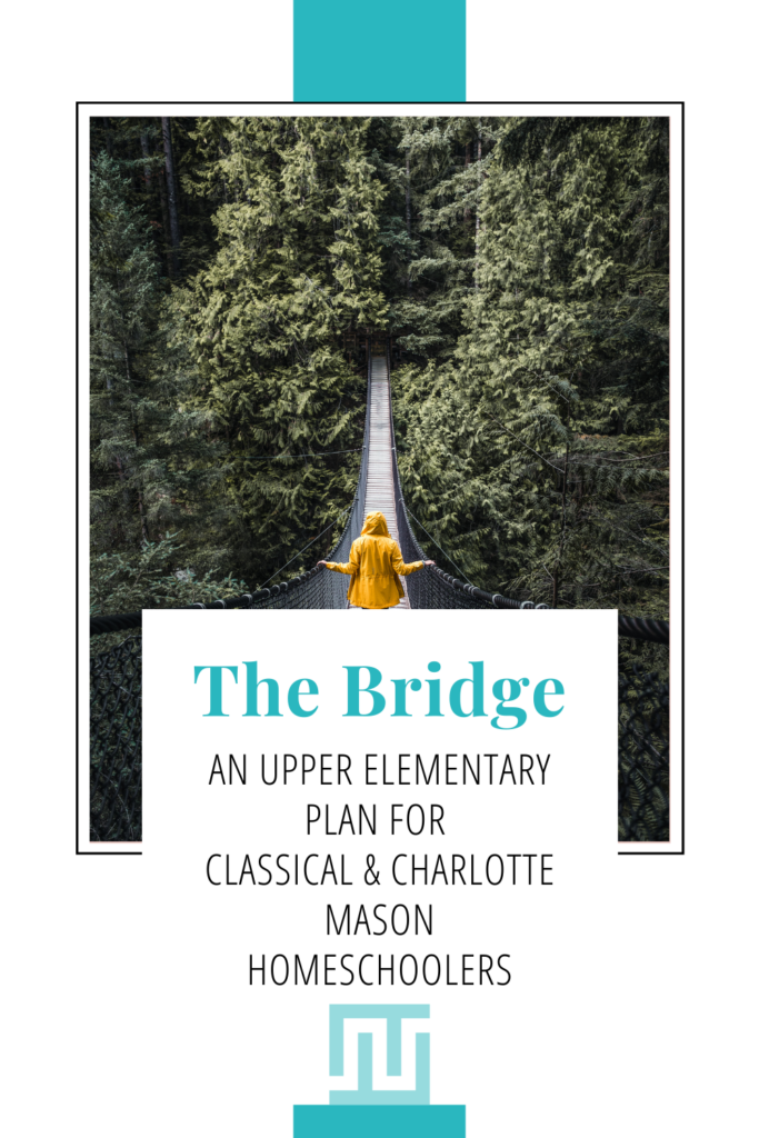 bridging the gap between Classical Conversations and Charlotte Mason (AO) in the upper elementary years, grades 4-6