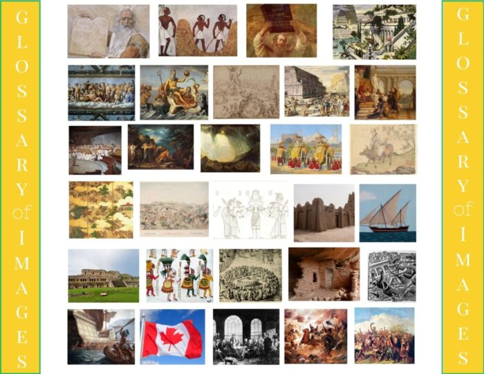 a Scribblers resource for Classical Conversations Cycle 1 - Math + History + Art Puzzles  - a beautiful way to review CC memory work
