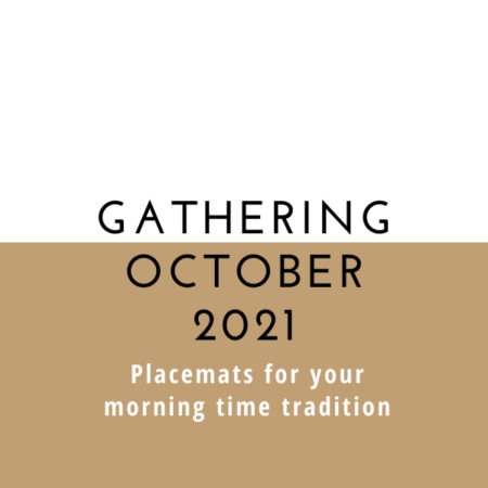 Gathering Placemats: October 2021