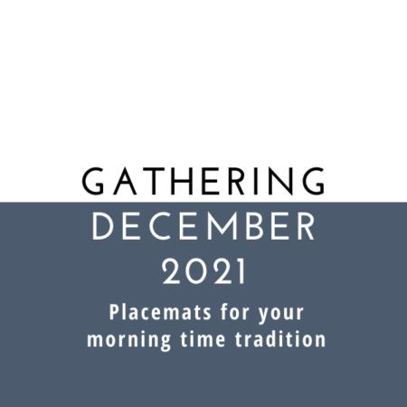 Gathering Placemats: December 2021