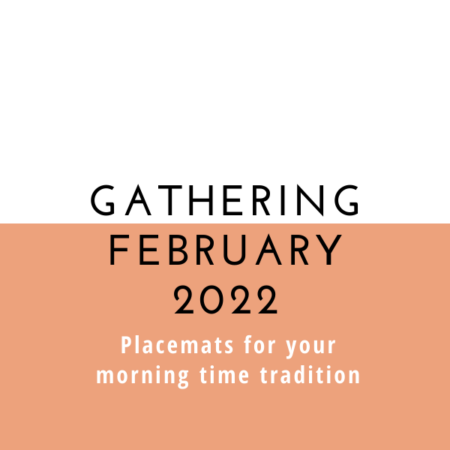 Gathering Placemats: February 2022