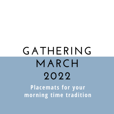 Gathering Placemats: March 2022