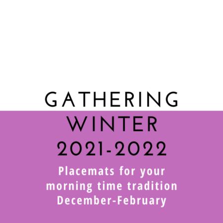 Gathering Placemats: Seasonal Set – Winter 2021-22