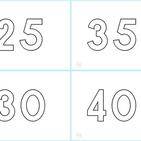 Skip Counting Cards 5
