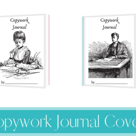 Copywork Journal Covers