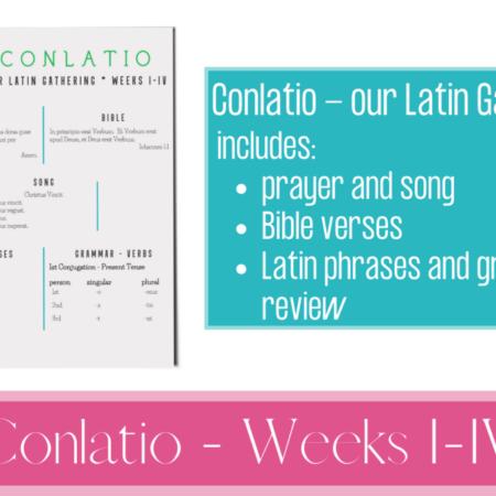 Conlatio, Weeks I-IV