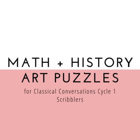 CC Cycle 1 Math + History Puzzles