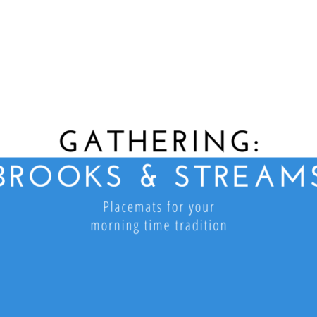 Gathering: Brooks & Streams Placemats