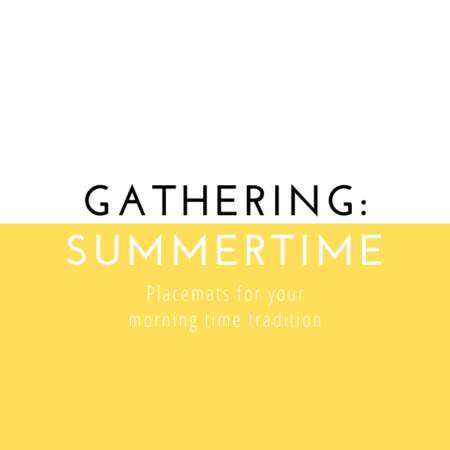 Gathering Placemats: Summertime