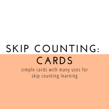 Skip Counting Cards – Entire Set