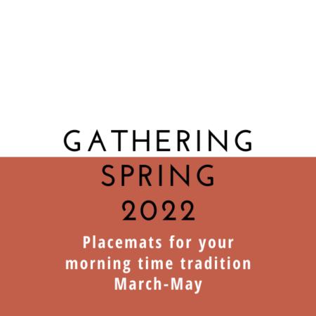 Gathering Placemats: Seasonal Set – Spring 2022