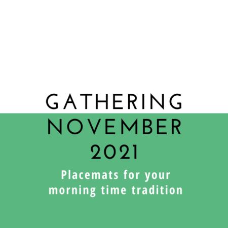 Gathering Placemats: November 2021