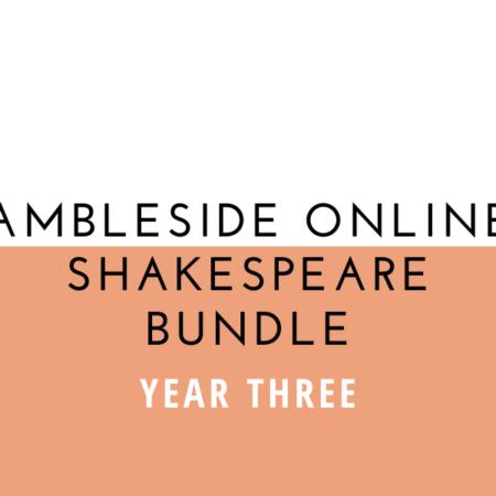 Ambleside Online Year 3 Shakespeare Bundle